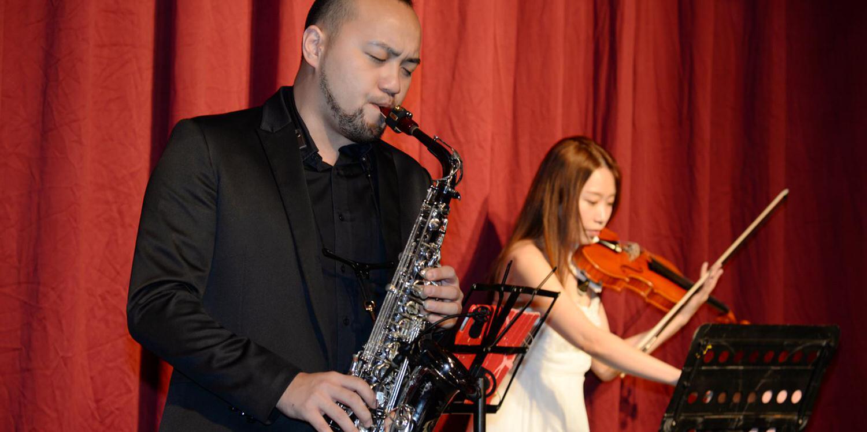 愛麗絲爵士樂團ALICE JAZZ BAND 客制化新人浪漫主題婚禮