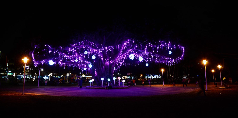 2019台灣燈會在屏東|千禧公園打造7大主題燈區 萬花筒光樂園絢麗登場